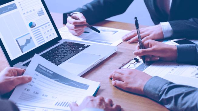 Finanças Empresariais gráficos