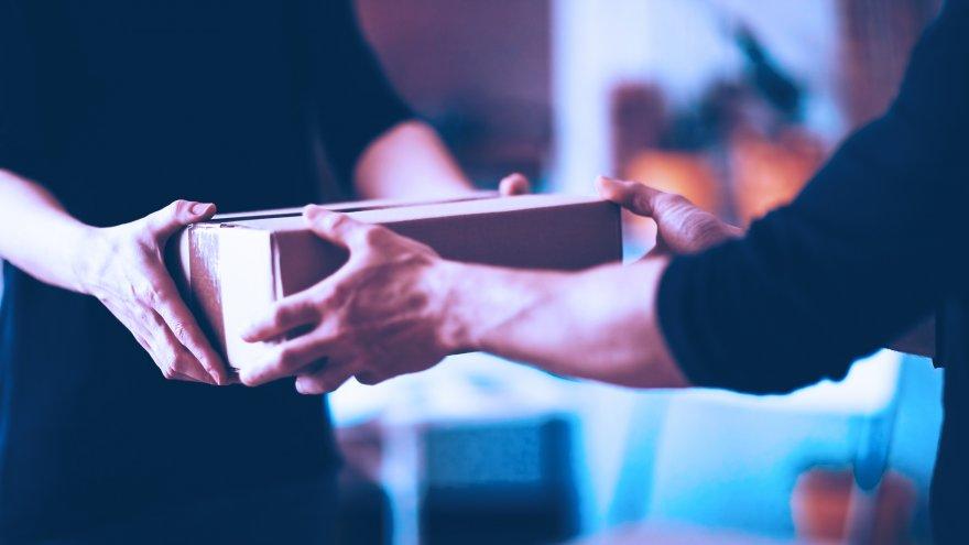 A entrega é um ponto de contato com o cliente. Preze por um bom atendimento.